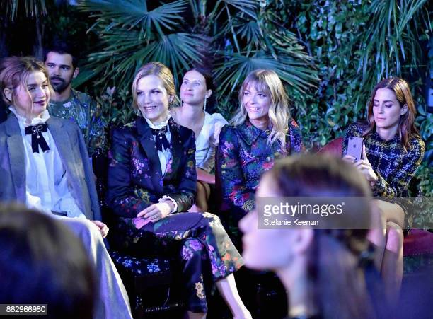 Ana de Armas Sylvia Hoeks and Jamie King at HM x ERDEM Runway Show Party at The Ebell Club of Los Angeles on October 18 2017 in Los Angeles California