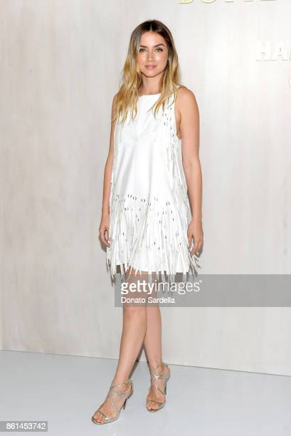 Ana de Armas wearing Bottega Veneta at the Hammer Museum 15th Annual Gala in the Garden with Generous Support from Bottega Veneta on October 14 2017...