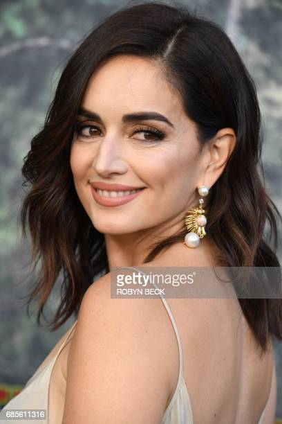 Ana de la Reguera attends the world premiere of the Showtime limitedevent series 'Twin Peaks' May 19 2017 at the Ace Hotel in Los Angeles California...