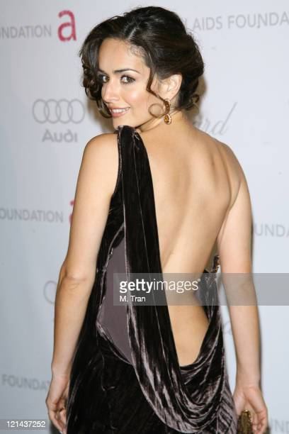 Ana de la Reguera during 15th Annual Elton John AIDS Foundation Oscar Party at Pacific Design Center in Los Angeles California United States