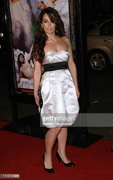 Ana De La Reguera during 'Tenacious D in the Pick of Destiny' Los Angeles Premiere Arrivals at Grauman's Chinese Theatre in Hollywood California...