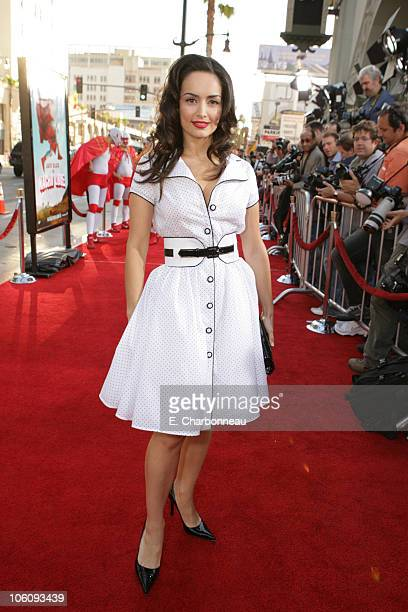 Ana de la Reguera during World Premiere of Paramount Pictures' 'Nacho Libre' at Grauman's Chinese Theatre in Los Angeles California United States