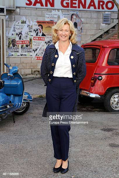 Ana Duato attends 'Cuentame Como Paso' 15th season presentation on January 7 2015 in Madrid Spain
