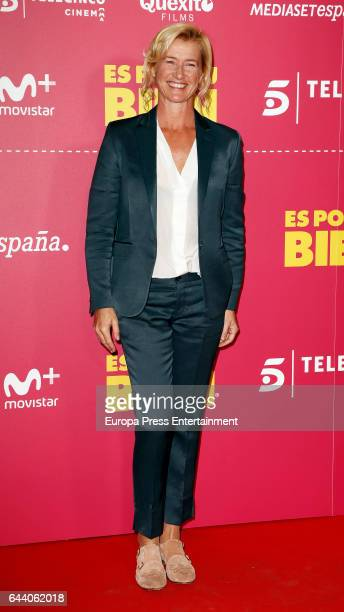 Ana Duato attends the 'Es por tu bien' premiere at Capitol cinema on February 22 2017 in Madrid Spain