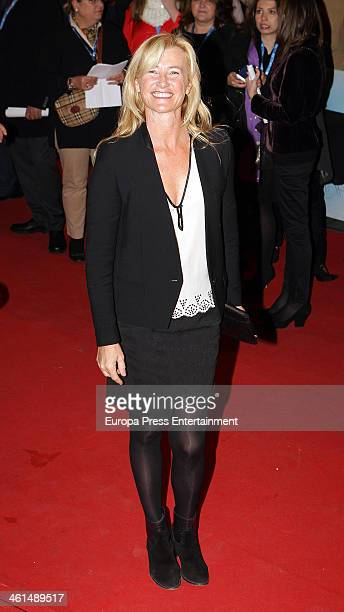 Ana Duato attends the 'Vicente Ferrer' premiere at the Callao cinema on January 8 2014 in Madrid Spain