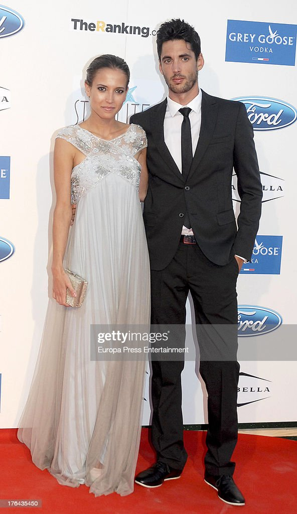 Ana Fernandez and Santiago Trancho attend the 4rd annual Starlite Charity Gala on August 10, 2013 in Marbella, Spain.