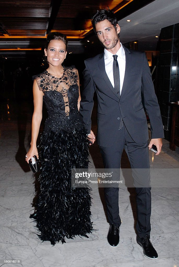 Ana Fernandez and Santiago Trancho attend the Global Gift Gala 2012 a party held by Cesare Scariolo Foundation and Eva Longoria Foundation to raise...