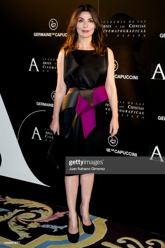 Ana Fernandez attends 'Golden Medal Award 2013 Gala' at Ritz Hotel on October 23 2013 in Madrid Spain
