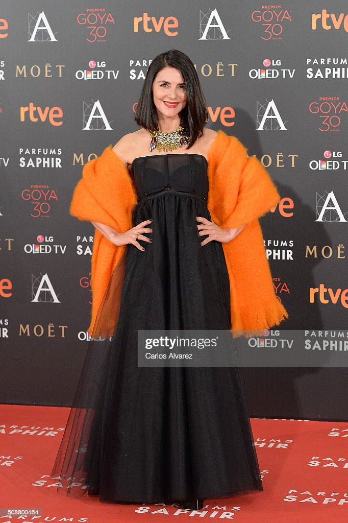 Ana Fernandez attends Goya Cinema Awards 2016 at Madrid Marriott Auditorium on February 6, 2016 in Madrid, Spain.