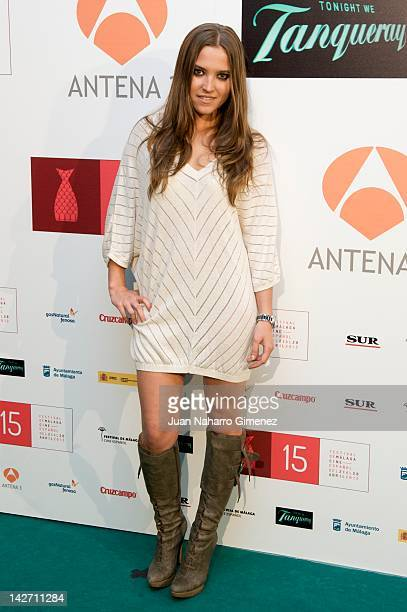 Ana Fernandez attends Malaga Film Festival 2012 cocktail presentation at Real Fabrica de Tapices on April 11 2012 in Madrid Spain
