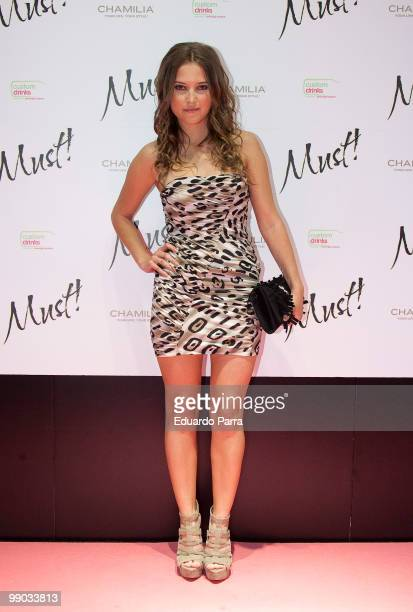 Ana Fernandez attends Must magazine awards at Telefonica flagship store on May 11 2010 in Madrid Spain