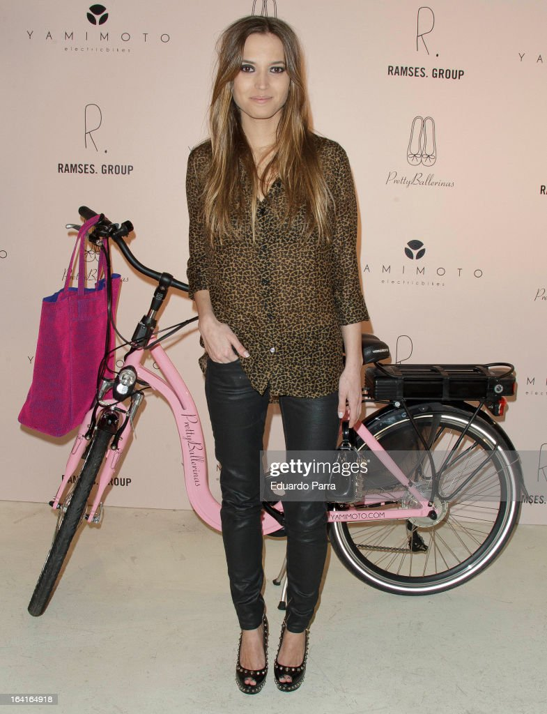 Ana Fernandez attends Pretty Ballerinas photocall party at Ramses bar on March 20, 2013 in Madrid, Spain.