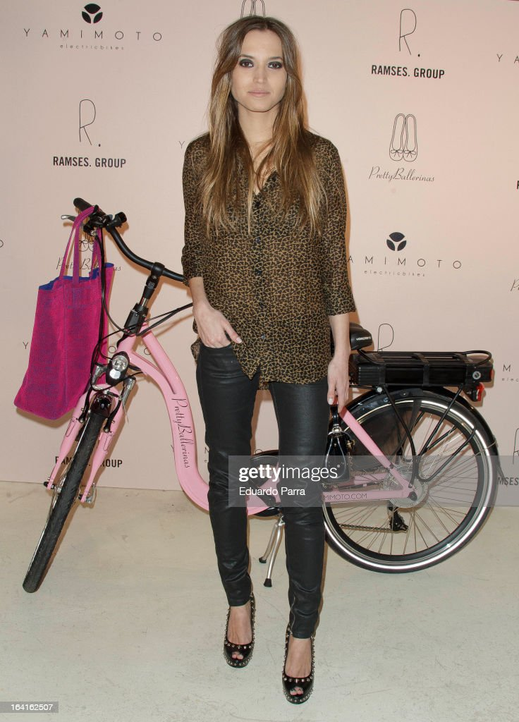 Ana Fernandez attends ^retty Ballerinas photocall party at Ramses bar on March 20 2013 in Madrid Spain