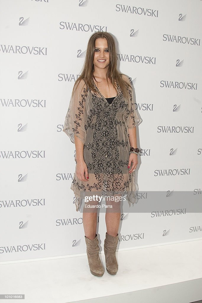 Ana Fernandez attends Swarovski new boutique opening photocall at Swarovski boutique Gran Via 39 on May 27, 2010 in Madrid, Spain.