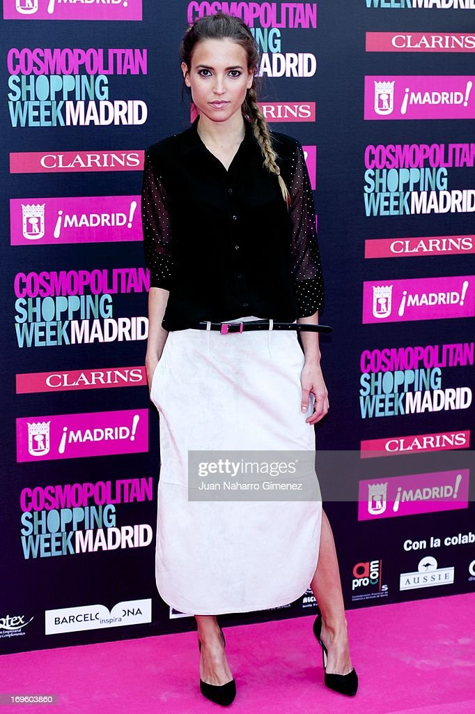 Ana Fernandez attends the 'Cosmopolitan Shopping Week' party at the Plaza de Callao on May 28, 2013 in Madrid, Spain.