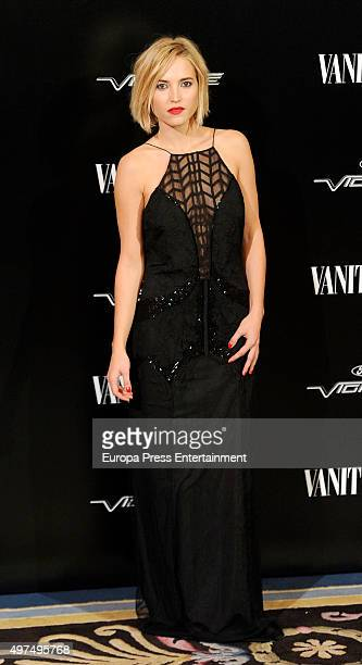 Ana Fernandez attends the gala for Placido Domingo as 'Vanity Fair Personality Of The Year' on November 16 2015 in Madrid Spain