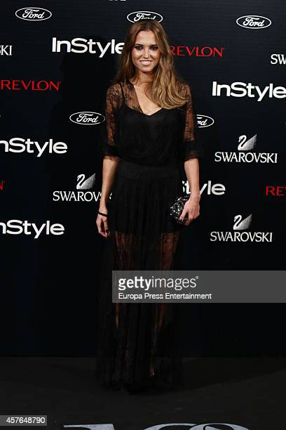 Ana Fernandez attends the InStyle Magazine 10th anniversary party on October 21 2014 in Madrid Spain