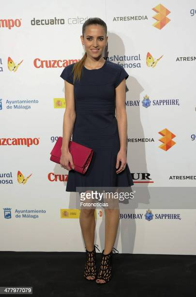 Ana Fernandez attends the Malaga Film Festival cocktail presentation at TClub on March 11 2014 in Madrid Spain