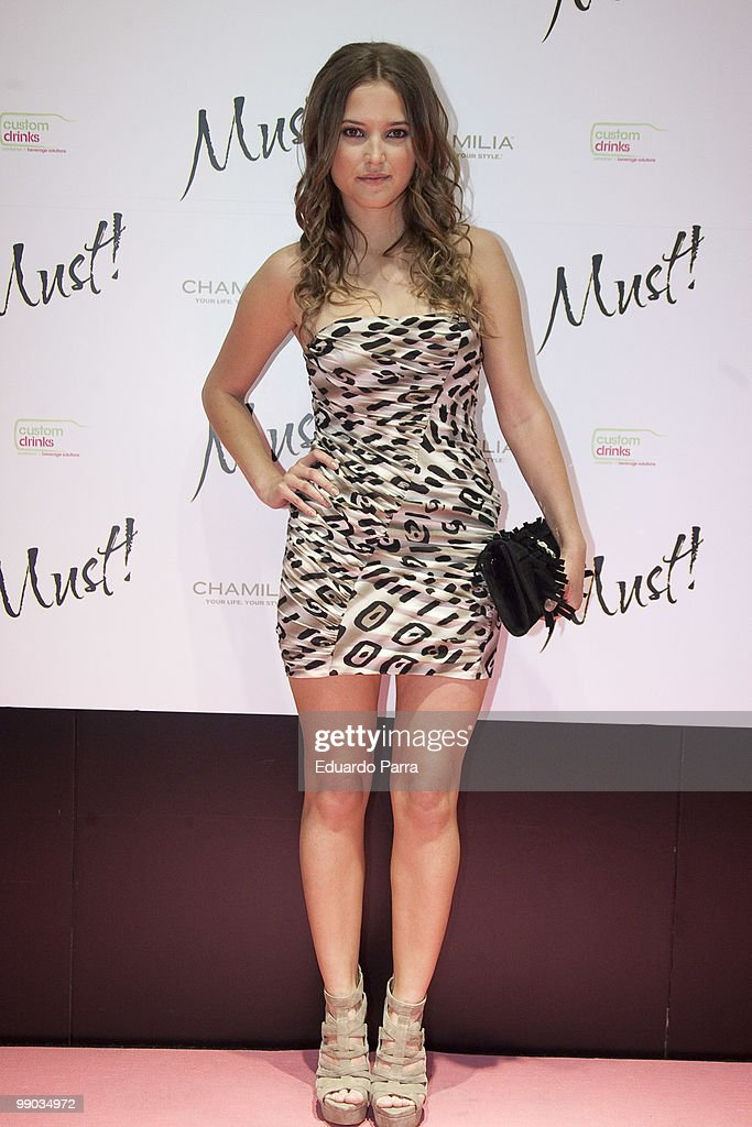 Ana Fernandez attends the Must magazine awards at the Telefonica flagship store on May 11 2010 in Madrid Spain