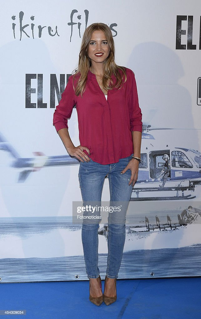 Ana Fernandez attends the premiere of 'El Nino' at Kinepolis Cinema on August 28 2014 in Madrid Spain