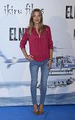 Ana Fernandez attends the premiere of 'El Nino' at Kinepolis Cinema on August 28 2014 in Madrid Spain