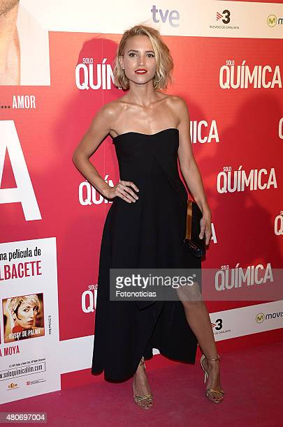 Ana Fernandez attends the 'Solo Quimica' Premiere at Palafox Cinema on July 14 2015 in Madrid Spain