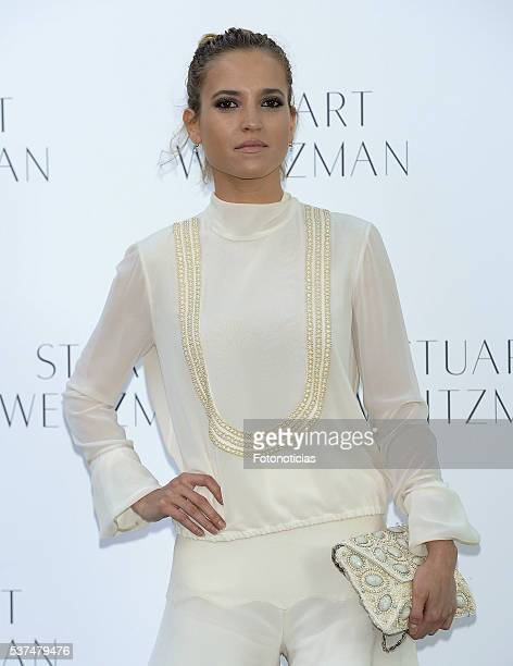 Ana Fernandez attends the Stuart Weitzman cocktail party at the US Ambassador's Residence on June 1 2016 in Madrid Spain