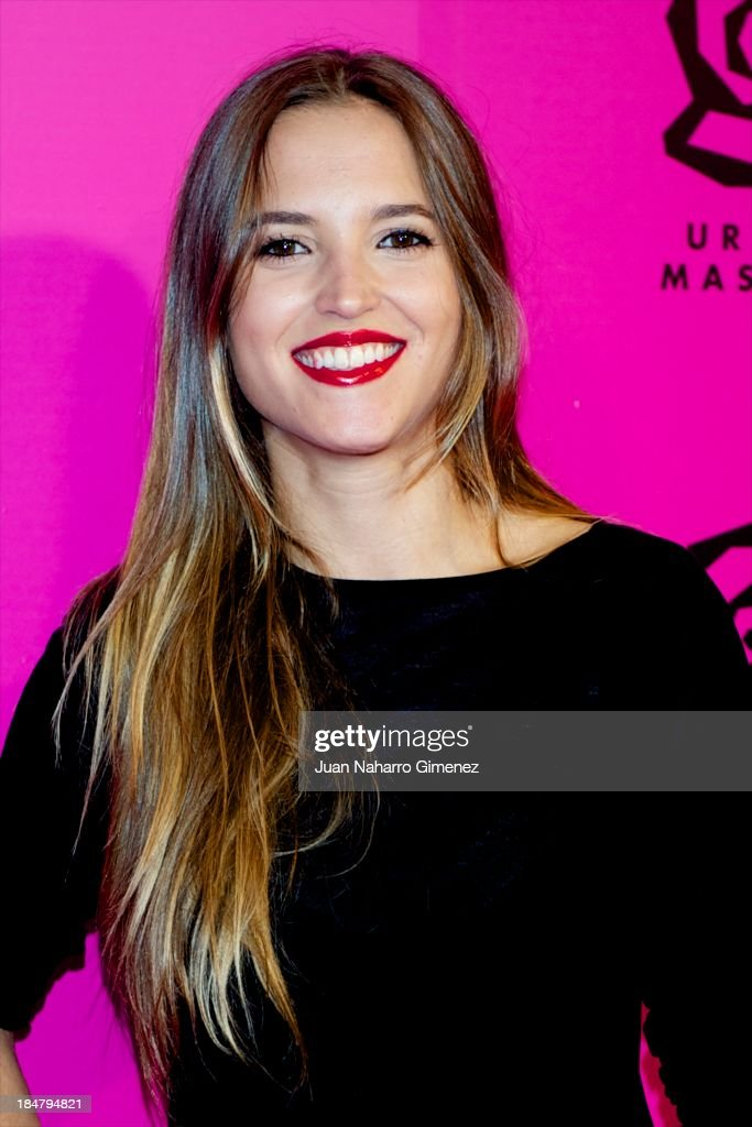 Ana Fernandez attends Ursula Mascaro opening store at Ursula Mascaro store on October 16, 2013 in Madrid, Spain.