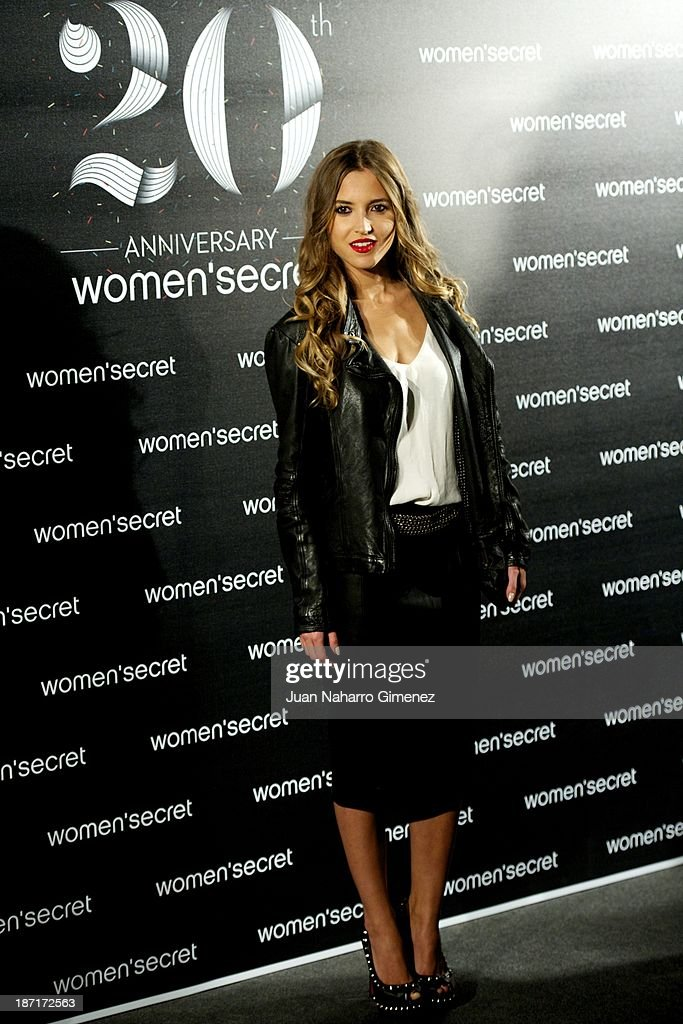 Ana Fernandez attends Women'secret New Collection presentation 20th anniversary at Botanic Garden on November 6, 2013 in Madrid, Spain.