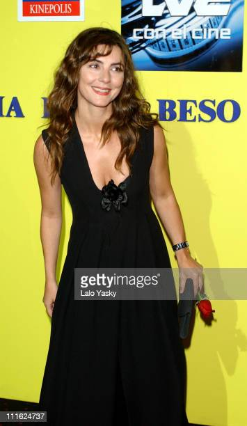 Ana Fernandez during 'Historia De Un Beso' Premiere Madrid at Cinema Kinepolis in Madrid Spain