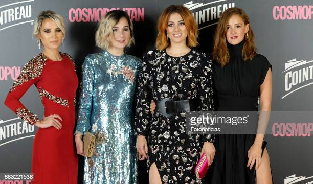 Ana Fernandez Nadia de Santiago Blanca Suarez and Ana Maria Polvorosa attend the 2017 Cosmpolitan Awards at the Graf club on October 19 2017 in...