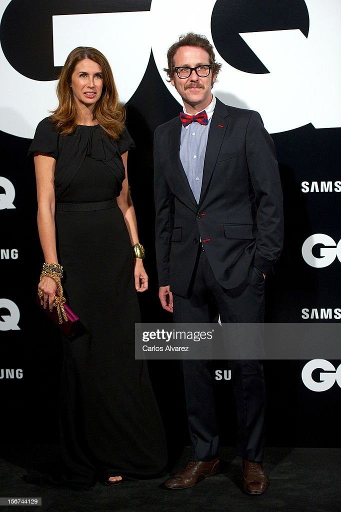 Ana Garcia Sineriz and Joaquin Torres attend the GQ Men Of The Year award 2012 at the Ritz Hotel on November 19, 2012 in Madrid, Spain.