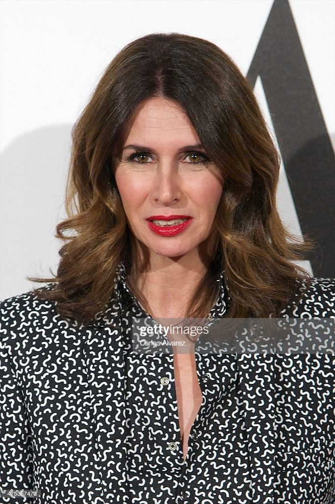Ana Garcia Sineriz attends the AD Awards 2014 at the Santa Coloma Palace on February 27, 2014 in Madrid, Spain.