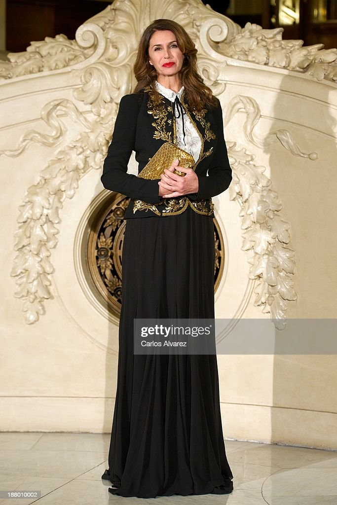 Ana Garcia Sineriz attends the Ralph Lauren Dinner Charity Gala at the Casino de Madrid in on November 14, 2013 in Madrid, Spain.