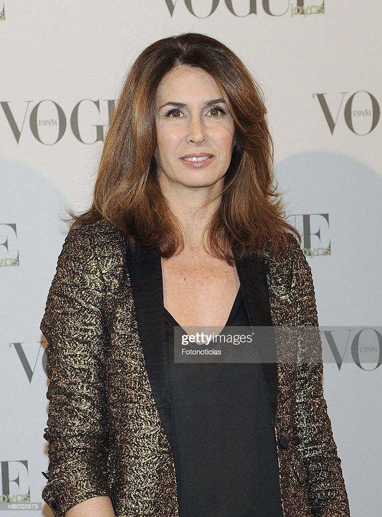 Ana Garcia Sineriz attends Vogue Joyas 2013 Awards at the Palacio de la Bolsa on December 11, 2013 in Madrid, Spain.
