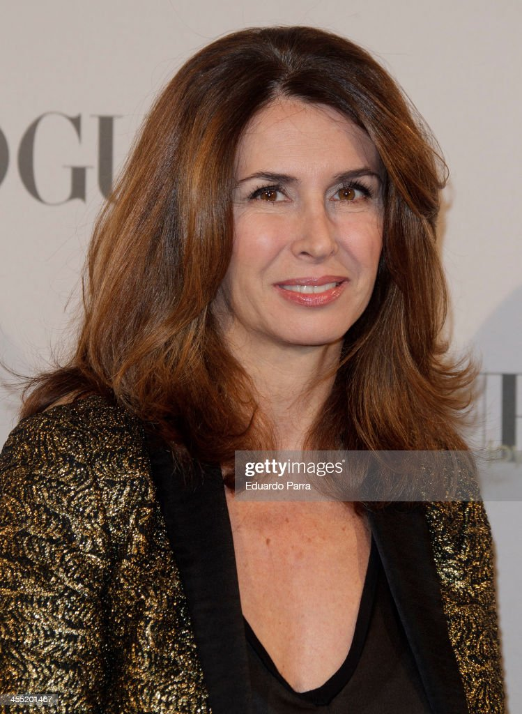 Ana Garcia Sineriz attends Vogue joyas 2013 awards photocall at Madrid stock exchange on December 11, 2013 in Madrid, Spain.