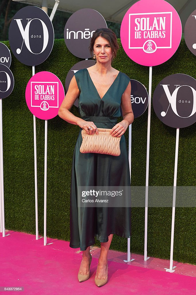 Ana Garcia Sineriz attends 'Yo Dona' International awards on June 27, 2016 in Madrid, Spain.