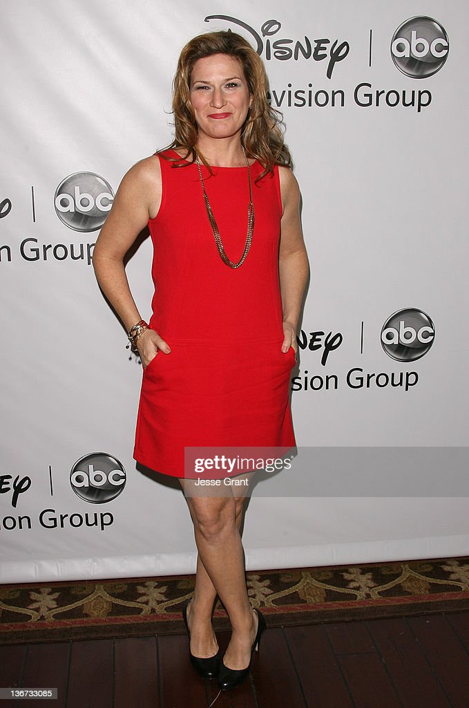Ana Gasteyer arrives to Disney ABC Television Group's 'TCA Winter Press Tour' at the Langham Huntington Hotel on January 10, 2012 in Pasadena, California.