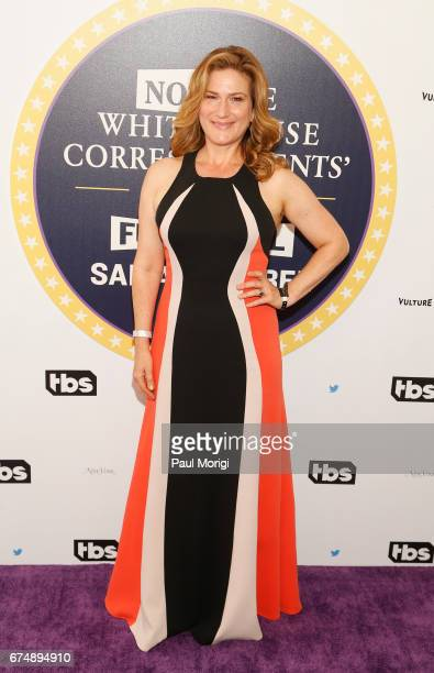 Ana Gasteyer attends 'Not the White House Correspondents' Dinner' presented by Full Frontal With Samantha Bee at DAR Constitution Hall on April 29...