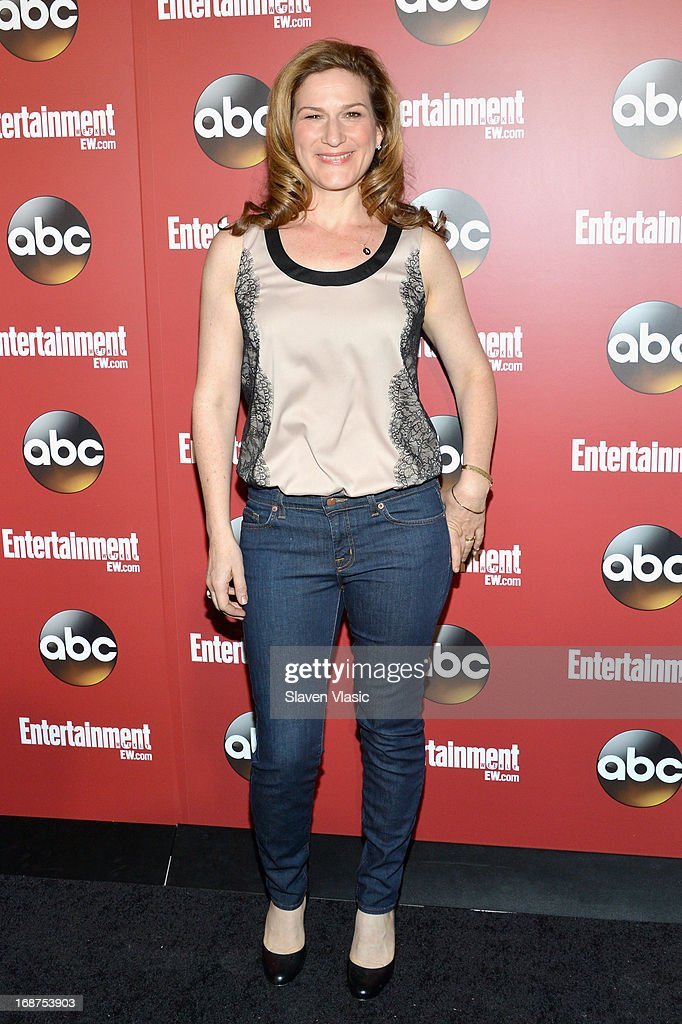 Ana Gasteyer attends the Entertainment Weekly & ABC-TV Upfronts Party at The General on May 14, 2013 in New York City.