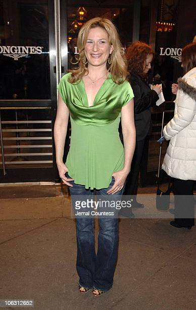 Ana Gasteyer during 'The Pajama Game' Broadway Opening Night Arrivals at American Airlines Theatre in New York City New York United States