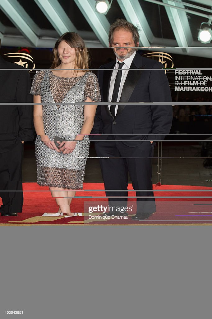 Ana Girardot and Christopher Thomson attend the 'Waltz With Monica' Premiere At 13th Marrakech International Film Festival on December 4, 2013 in Marrakech, Morocco.