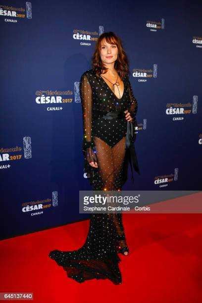 Ana Girardot arrives at the Cesar Film Awards 2017 ceremony at Salle Pleyel on February 24 2017 in Paris France