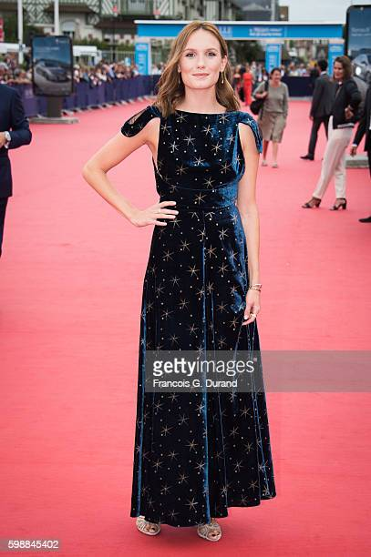 Ana Girardot arrives at the opening ceremony of the 42nd Deauville American Film Festival on September 2 2016 in Deauville France