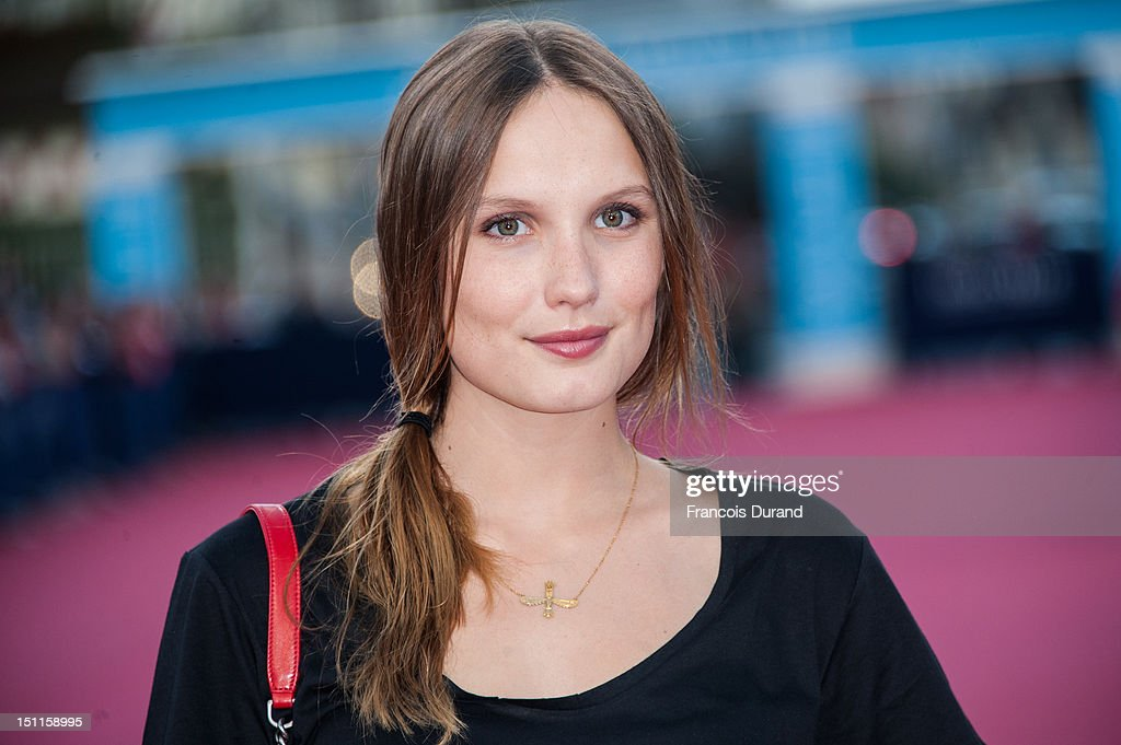 Ana Girardot arrives for the 'Killer Joe' Premiere during the 38th Deauville American Film Festival on September 2, 2012 in Deauville, France.