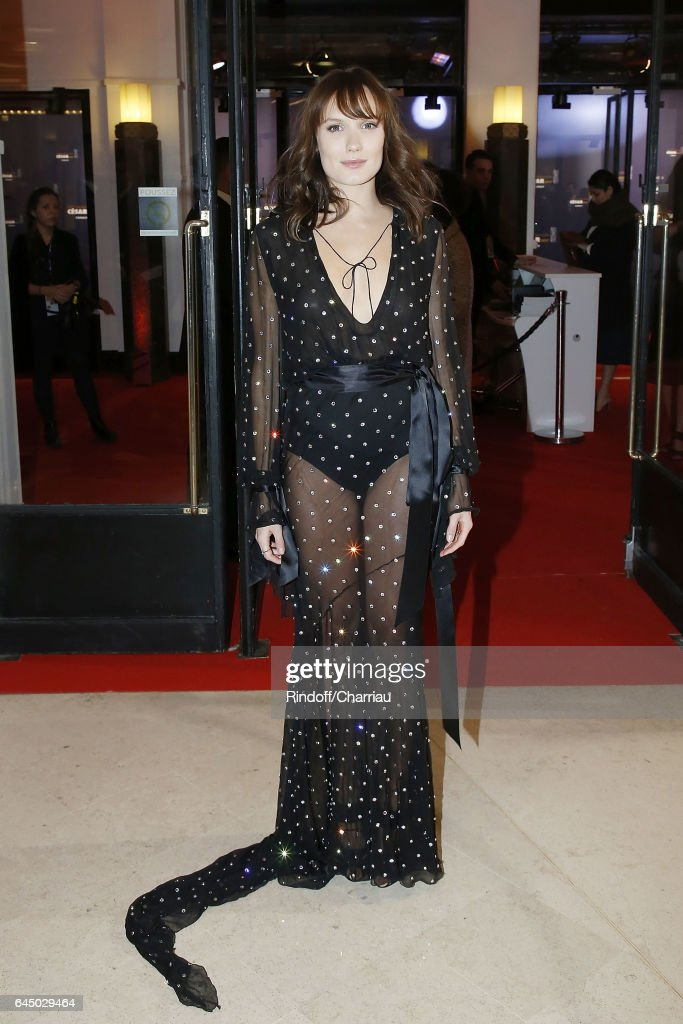 Ana Girardot attends Cesar Film Award 2017 at Salle Pleyel on February 24, 2017 in Paris, France.