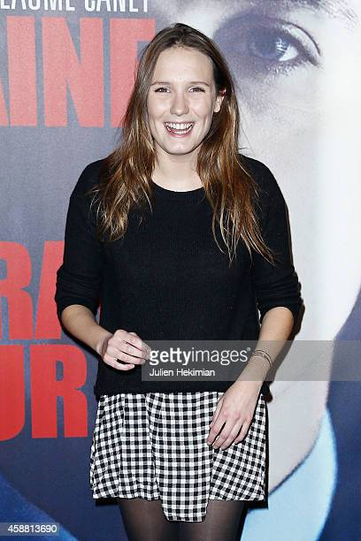 Ana Girardot attends 'La Prochaine Fois Je Viserai Le Coeur' Paris Premiere at UGC Cine Cite Bercy on November 11 2014 in Paris France