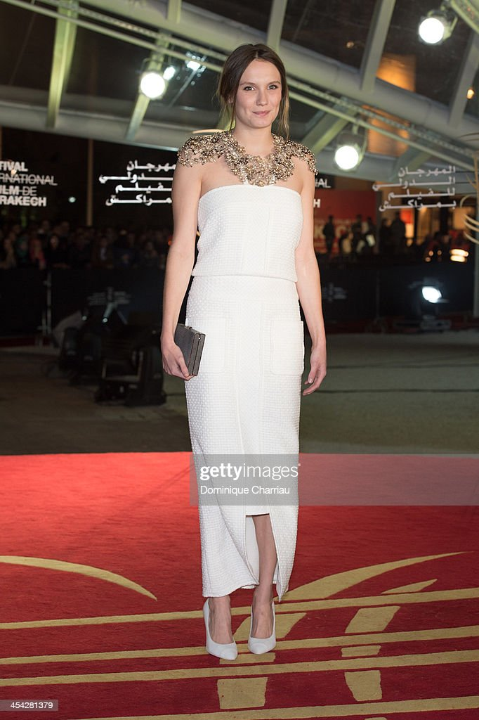 Ana Girardot attends the Award Ceremony of the 13th Marrakech International Film Festival attend the award Ceremony 2013' At 13th Marrakech International Film Festival on December 7, 2013 in Marrakech, Morocco.