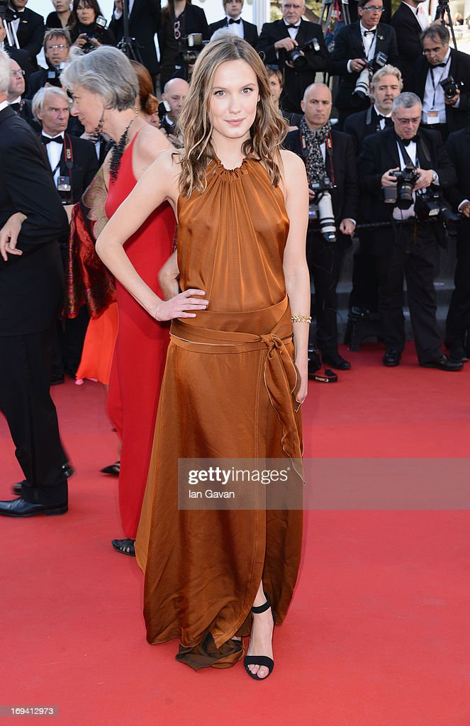 Ana Girardot attends 'The Immigrant' Premiere during the 66th Annual Cannes Film Festival at Grand Theatre Lumiere on May 24, 2013 in Cannes, France.