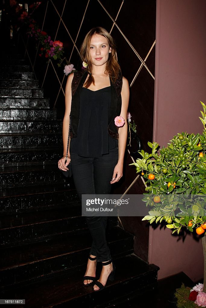 <a gi-track='captionPersonalityLinkClicked' href=/galleries/search?phrase=Ana+Girardot&family=editorial&specificpeople=6991847 ng-click='$event.stopPropagation()'>Ana Girardot</a> attends the 'Les P'tits Cracks' charity dinner at Pavillon Champs-Elysees on April 25, 2013 in Paris, France.